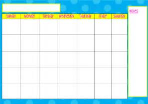 monday to friday calendar template monday to friday calendar template calendar template 2016