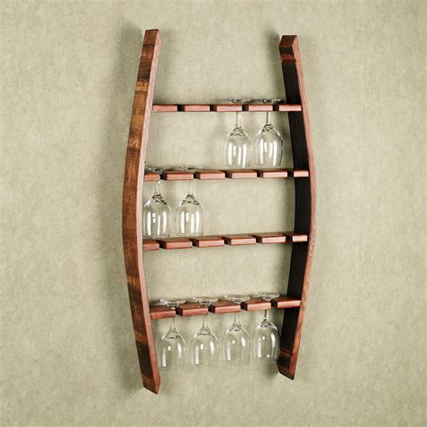 Wine Glass Shelf Rack by Woodworking Plans Wine Glass Rack Woodproject
