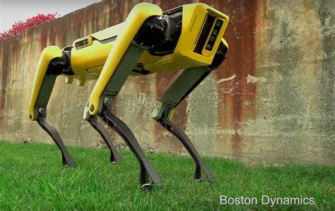 boston dynamics big boston dynamics spotmini robot has a lifelike gait and new look slashgear