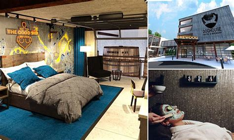 themed hotels in ohio brewdog hotel to open in ohio featuring ale tap in bedroom