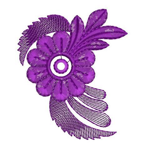 design flower purple purple flower embroidery design