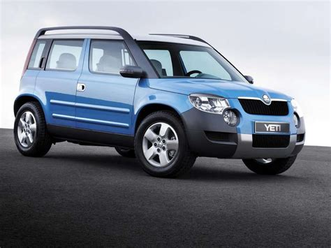 wallpapers skoda yeti car wallpapers