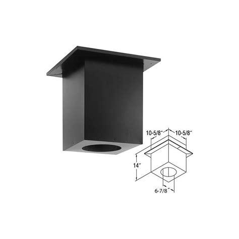 Duravent Ceiling Support Box by Duravent 46dva Cs Galvanized 4 Quot X 6 5 8 Quot Inner Diameter