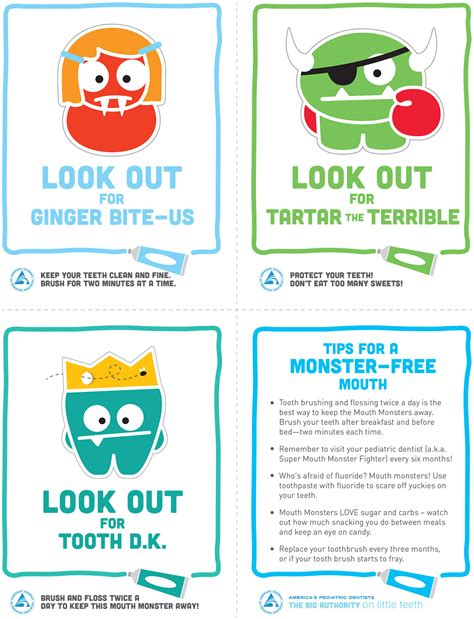 printable dental poster pin dental health posters 148 classroom printables store