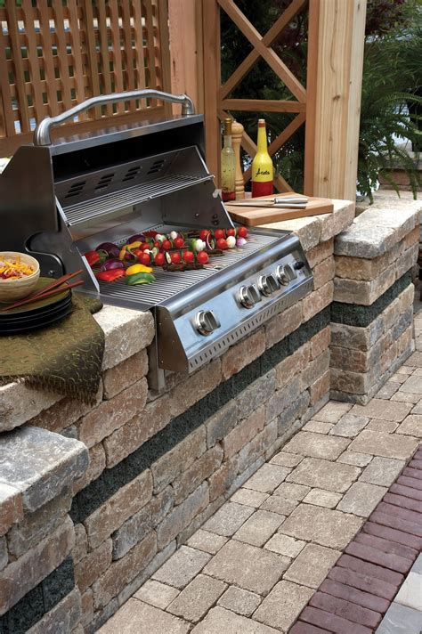 Backyard Grill Contact Brussels Dimensional Bbq Grill Island Our Outdoor