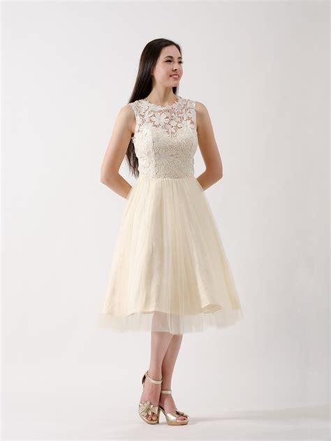Lace Bridesmaid Dress by Lace Bridesmaid Dress Chagne