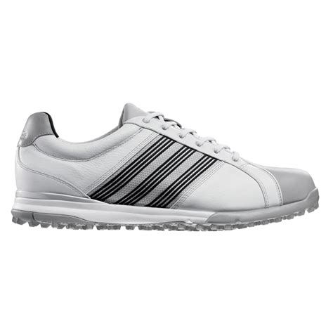 adidas adicross tour spikeless golf shoes white at intheholegolf