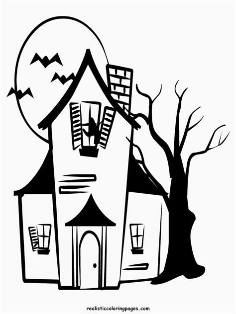 realistic halloween coloring pages happy halloween coloring pages realistic coloring pages