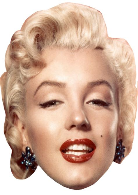 marilyn monroe face marilyn monroe diy celebrity face mask kit