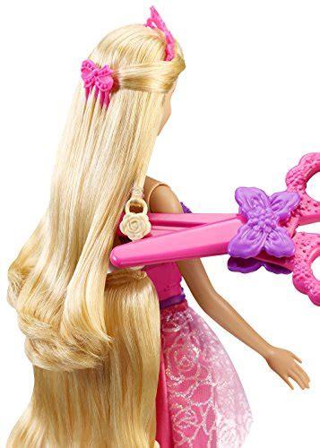 Barbie Endless Hair Kingdom Princess Doll, Pink   Buy