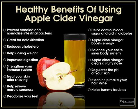 Distilled Vinegar For Detox by 12 Ways To Use Apple Cider Vinegar Drjockers