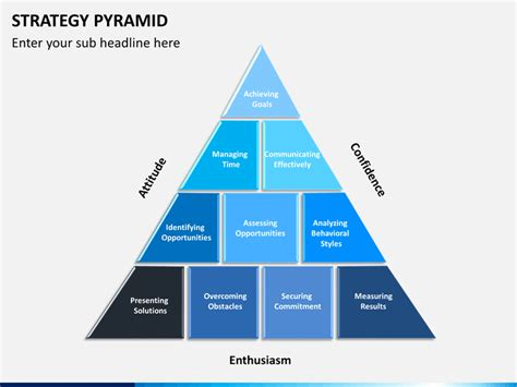 Pyramid Ppt Template by Strategy Pyramid Powerpoint Template Sketchbubble