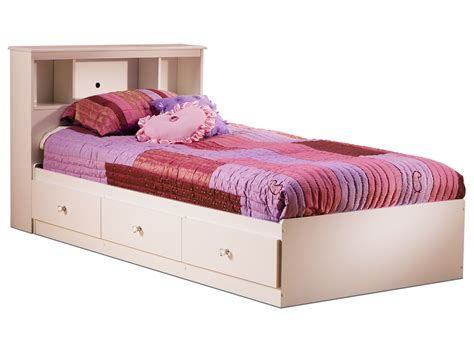 cute pink twin bed for kids with twin upholstered