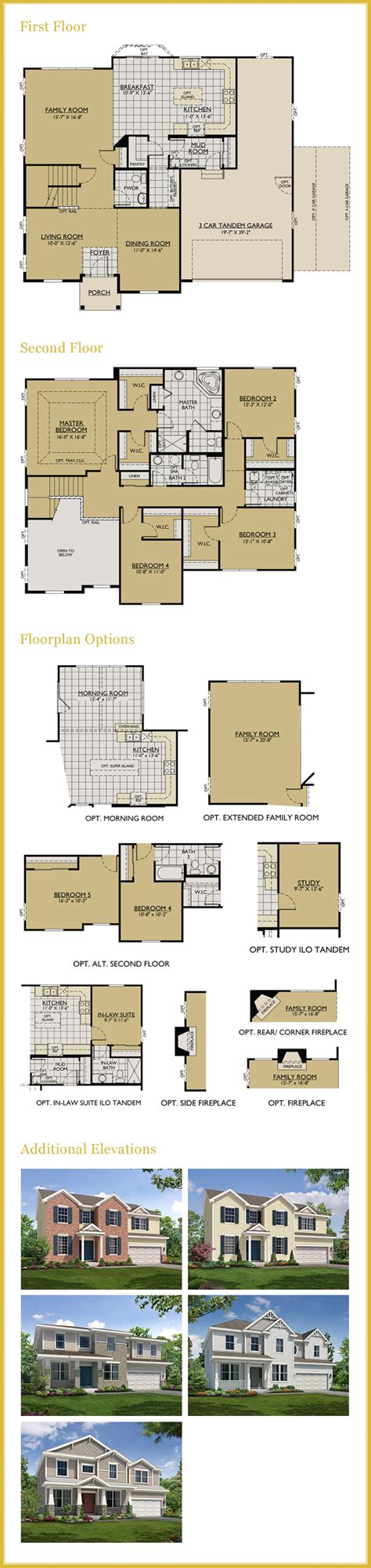 william ryan homes floor plans the jericho by william ryan homes crown highland