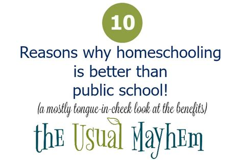 10 Reasons Shoes Are Better Than by Reasons Why Homeschooling Is Better Than School