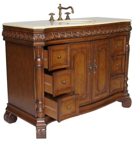 48 Inch Vanities by 48 Inch Avenel Bathroom Sink Vanity