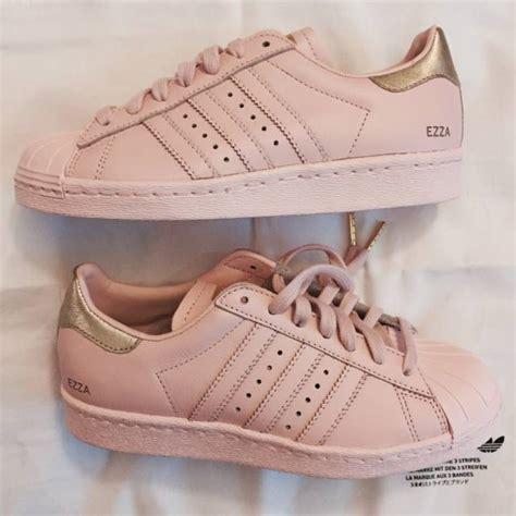 custom adidas supercolor superstar shoes blush pink