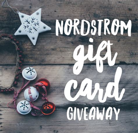 nordstrom christmas cards nordstrom gift card giveaway