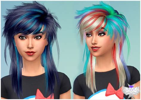 emo hairstyles sims 4 image gallery sims 4 emo