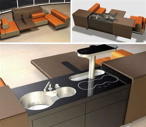 all in one kitchen dining living room furniture set
