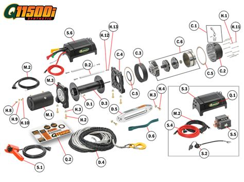 quadratec winch wiring diagram warn winch solenoid wiring