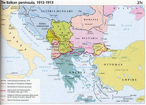 balkans map the balkans 1913 size