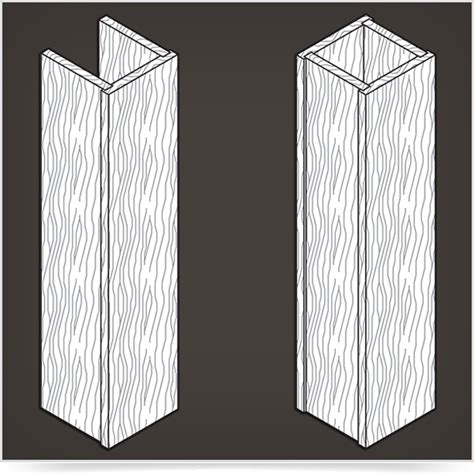 wood column wrap square walzcraft