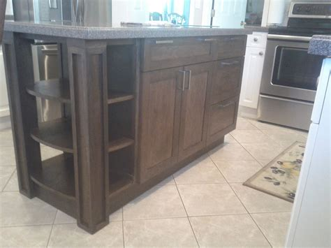 Walnut Kitchen Island Made Black Walnut Kitchen Island By Mortise Tenon Woodcrafts Custommade