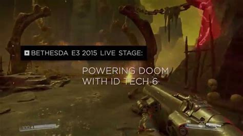 id tech youtube powering doom with id tech 6 engine youtube