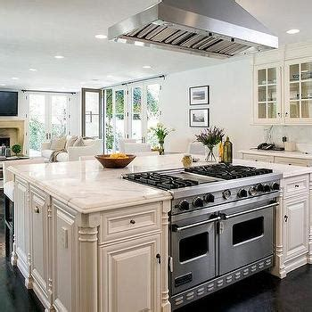 kitchen island with range interior design inspiration photos by architectural digest