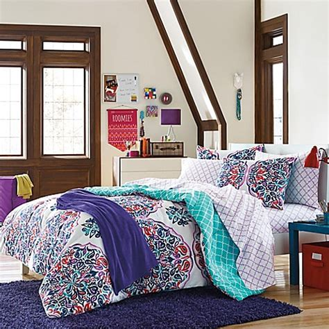 bed bath and beyond dorm samantha bedding kit bed bath beyond