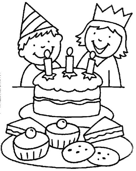 cake coloring pages pdf free printable birthday cake coloring pages for kids