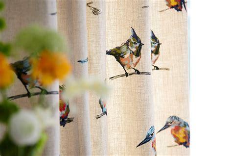 bird design curtains sgraffito harlequin designer fabrics