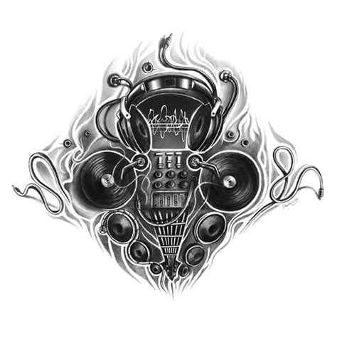 dj tattoo designs dj inspired designs dibujos