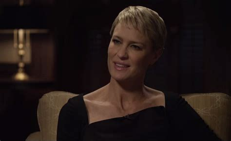 pics of robin wright haircut in house of cards robin wrights haircut in house of cards