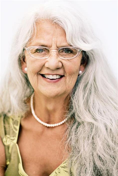 long hairstyles for elderly women slideshow