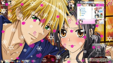 theme windows 7 kaichou wa maid sama theme anime windows 7 kaichou wa maid sama lutfi kun