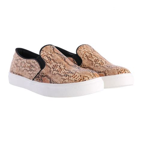 snake print slip on sneakers slangen snake print slip on sneakers fashion webshop