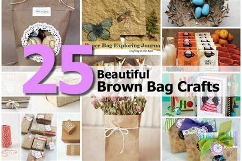 Brown Paper Bag Craft Ideas - 25 beautiful brown bag crafts