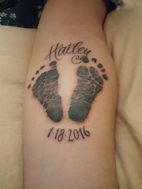 unlimited ink tattoo carlos realistic footprint yelp