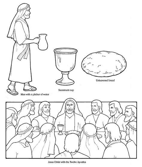 lds coloring pages easter lesson 45 easter lds lesson ideas