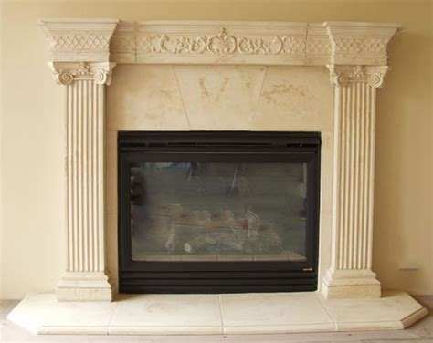 Cast Fireplace Mantels by Cast Fireplace Mantels Pre Cast Surrounds