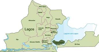 Lagos Africa Map by Lagos On World Map Bing Images