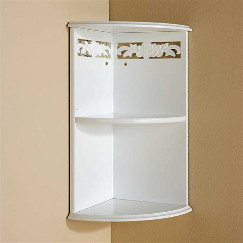 Wall Mounted Corner Shelves Decor Ideasdecor Ideas Bathroom Corner Wall Shelves
