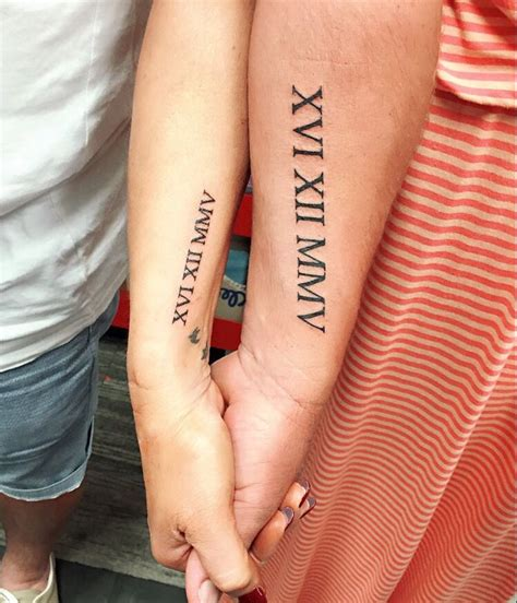 roman numeral forearm tattoo designs ideas and meaning