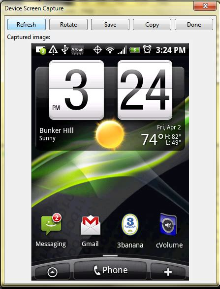 Android Without Gui by Take Android Screenshots Without Root Android Central