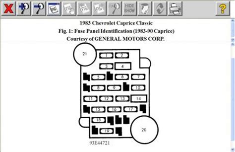 chevy malibu fuse box get free image about wiring diagram