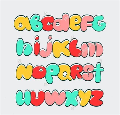 graffiti alphabet letters  psd vector eps format
