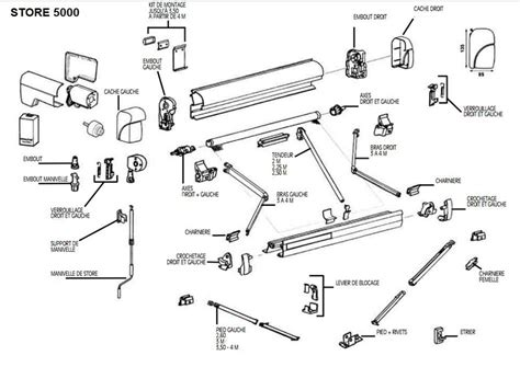 Omnistor Awning Parts by Herreg 229 Rd Omnistore