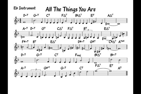 Buku All The Things You Are More Jerome Kern Songs Include Cd all the things you are play along eb version